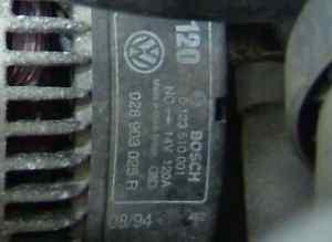120A オルターネーター