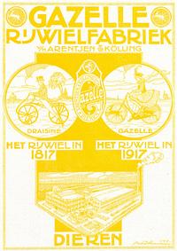 Gazelle_rijwielfabriek