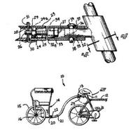 Us_patent4928985_bicycle_buggy_appa