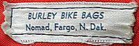 初期のバーリー自転車バッグ